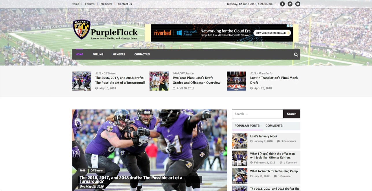 PurpleFlock News Page